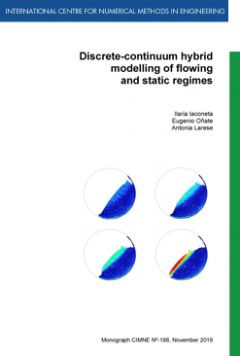 M188Discrete-continuum hybrid modelling of flowing and static regimes